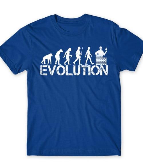 Kőműves Evolúció Póló - Ha Mason rajongó ezeket a pólókat tuti imádni fogod!