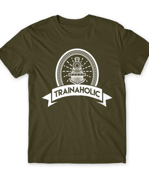 Trainaholic Póló - Ha Locomotive rajongó ezeket a pólókat tuti imádni fogod!
