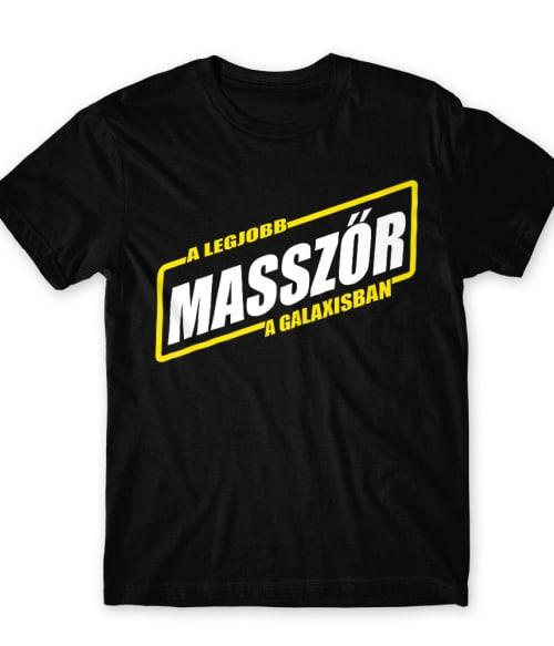 Legjobb masszőr a galaxisban Póló - Ha Massage Therapist rajongó ezeket a pólókat tuti imádni fogod!