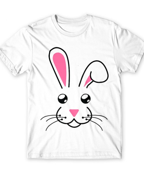 Bunny face Póló - Ha Rabbit rajongó ezeket a pólókat tuti imádni fogod!