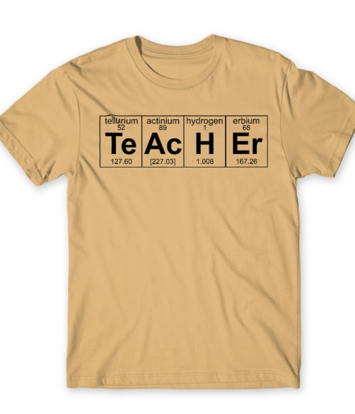 Teacher elements Póló - Ha Teacher rajongó ezeket a pólókat tuti imádni fogod!