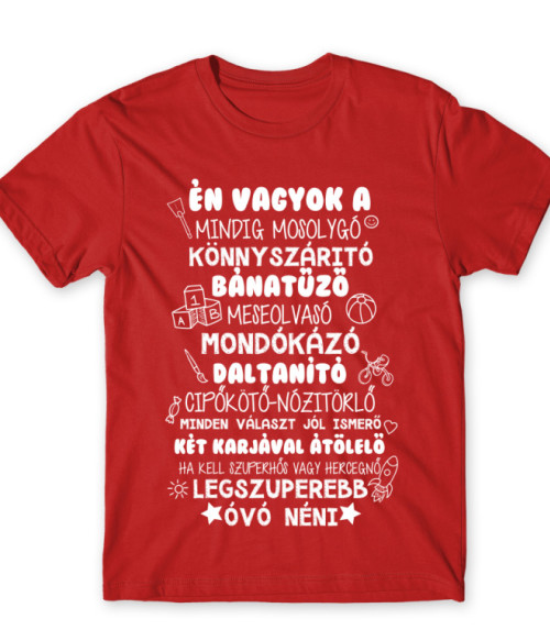 Mindig mosolygó óvónéni Póló - Ha Kindergarten Teacher rajongó ezeket a pólókat tuti imádni fogod!