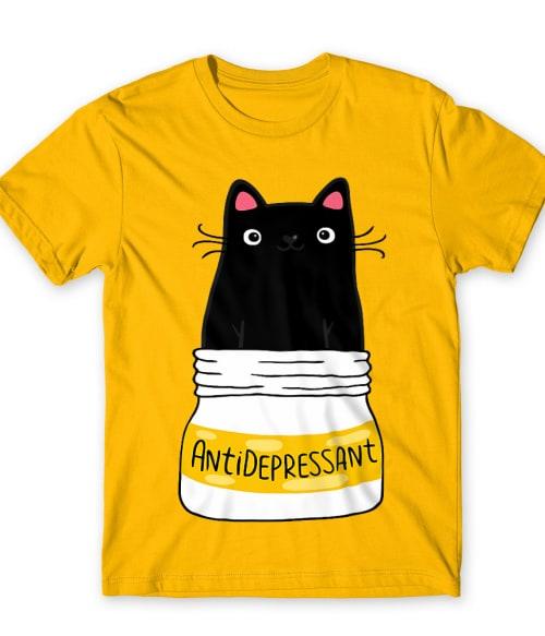 Antidepressant Póló - Ha Cat rajongó ezeket a pólókat tuti imádni fogod!