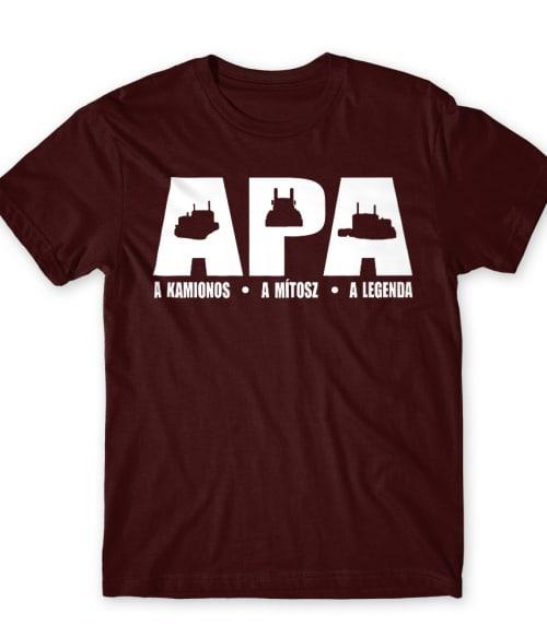 Apa a kamionos Póló - Ha Truck Driver rajongó ezeket a pólókat tuti imádni fogod!