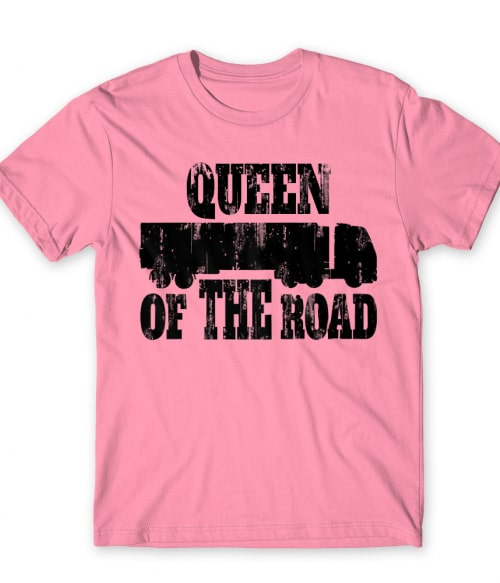 Queen of the Road Póló - Ha Truck Driver rajongó ezeket a pólókat tuti imádni fogod!