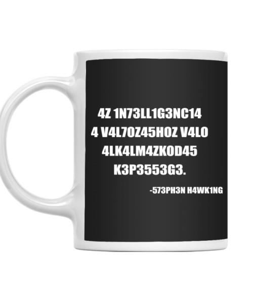 Intelligence Póló - Ha Science rajongó ezeket a pólókat tuti imádni fogod!