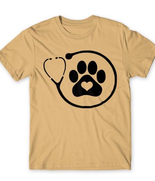 Veterinary paw love Póló - Ha Veterinary rajongó ezeket a pólókat tuti imádni fogod!