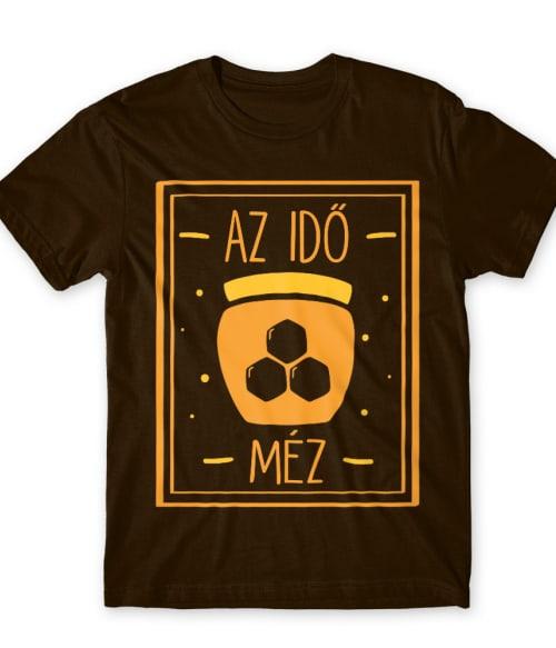 Az idő méz Póló - Ha Beekeeper rajongó ezeket a pólókat tuti imádni fogod!