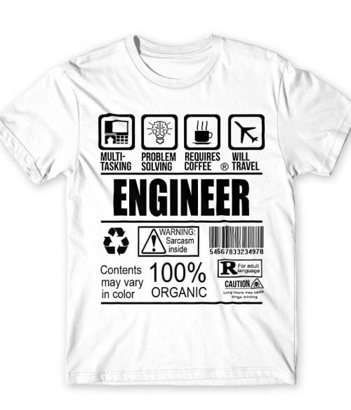 Engineer facts Póló - Ha Engineer rajongó ezeket a pólókat tuti imádni fogod!