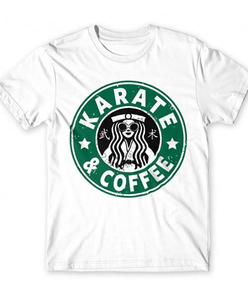 Karate and coffee Póló - Ha Karate rajongó ezeket a pólókat tuti imádni fogod!