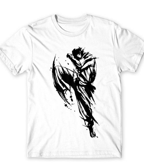 Karate painting Póló - Ha Karate rajongó ezeket a pólókat tuti imádni fogod!