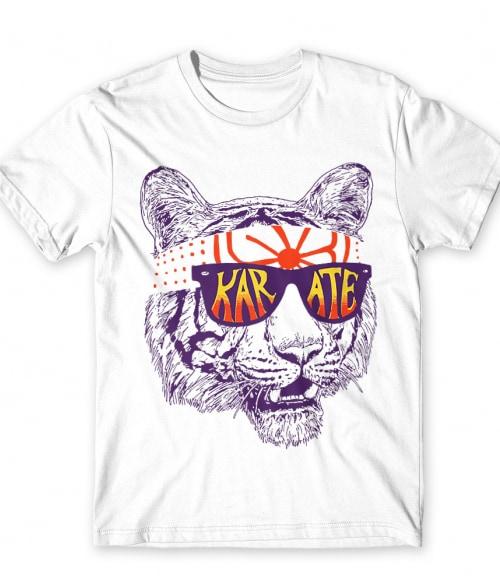 Karate tiger Póló - Ha Karate rajongó ezeket a pólókat tuti imádni fogod!