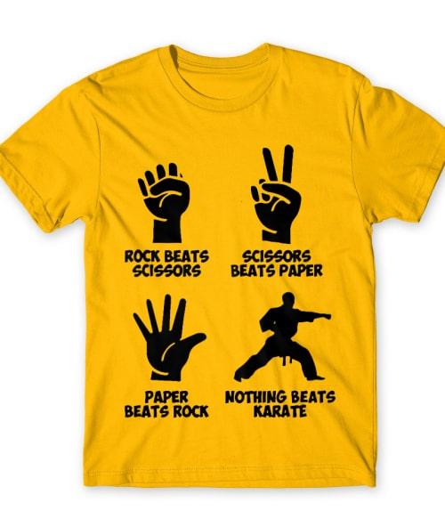 Rock scissors paper karate Póló - Ha Karate rajongó ezeket a pólókat tuti imádni fogod!