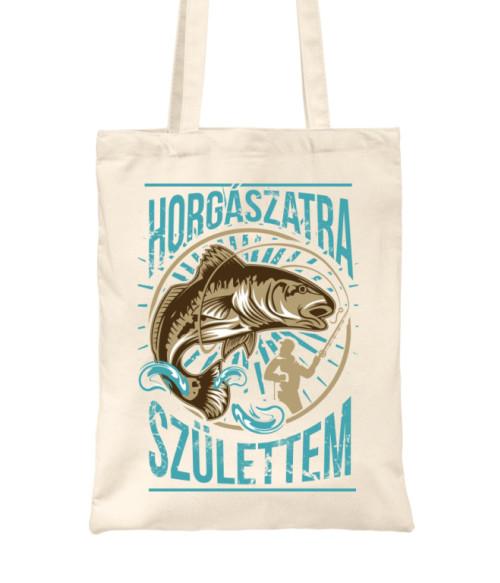 Horgászatra születtem Póló - Ha Fishing rajongó ezeket a pólókat tuti imádni fogod!