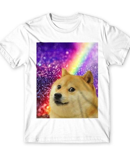 Doge Rainbow Póló - Ha Meme rajongó ezeket a pólókat tuti imádni fogod!