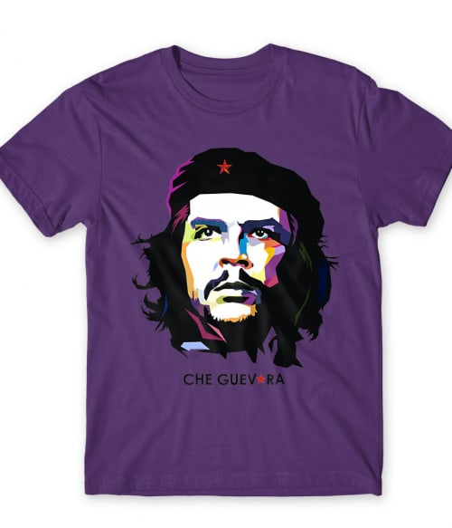 Che Guevara – Pink és Lila Póló - Ha Che Guevara rajongó ezeket a pólókat tuti imádni fogod!