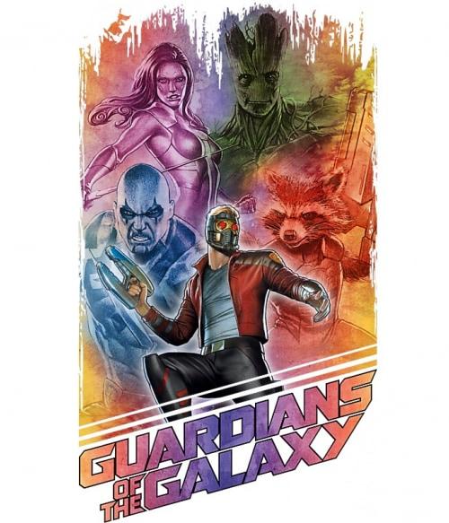 Guardians team colors Póló - Ha Guardians of the Galaxy rajongó ezeket a pólókat tuti imádni fogod!