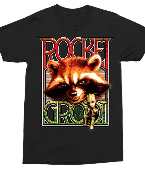 Rocket and Groot Póló - Ha Guardians of the Galaxy rajongó ezeket a pólókat tuti imádni fogod!
