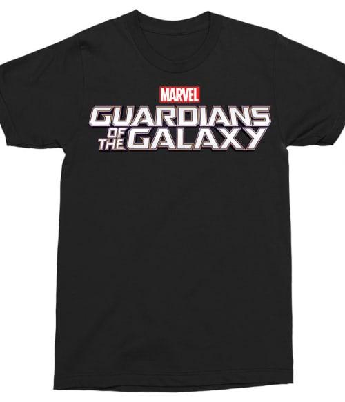 Guardians Simple logo Póló - Ha Guardians of the Galaxy rajongó ezeket a pólókat tuti imádni fogod!