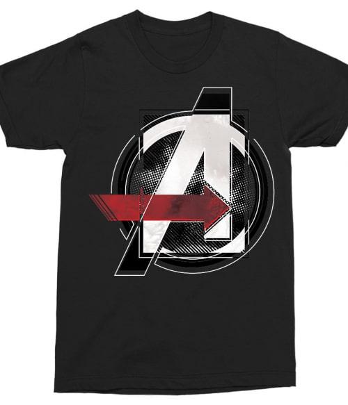 Avengers Grunge Logo Póló - Ha Avengers rajongó ezeket a pólókat tuti imádni fogod!