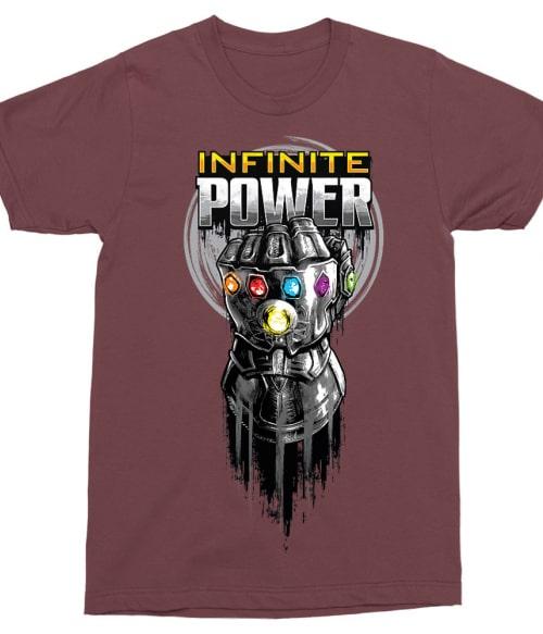 Infinite power Póló - Ha Thanos rajongó ezeket a pólókat tuti imádni fogod!