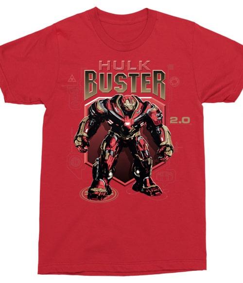 Hulk Buster Póló - Ha Avengers rajongó ezeket a pólókat tuti imádni fogod!