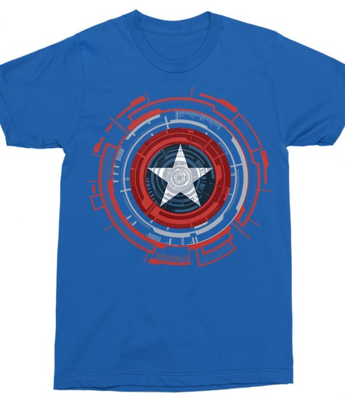 Numeric Shield Póló - Ha Captain America rajongó ezeket a pólókat tuti imádni fogod!