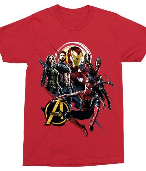 Infinity War Póló - Ha Avengers rajongó ezeket a pólókat tuti imádni fogod!