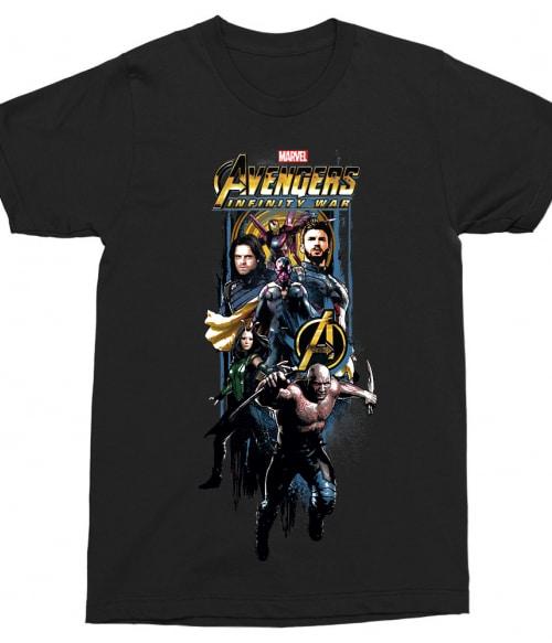 Infinity War Stripe Póló - Ha Avengers rajongó ezeket a pólókat tuti imádni fogod!