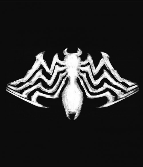 Venom logo Póló - Ha Spiderman rajongó ezeket a pólókat tuti imádni fogod!