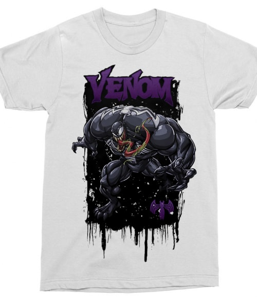 Venom Póló - Ha Spiderman rajongó ezeket a pólókat tuti imádni fogod!