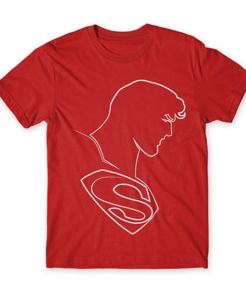 Superman lineart Póló - Ha Superman rajongó ezeket a pólókat tuti imádni fogod!