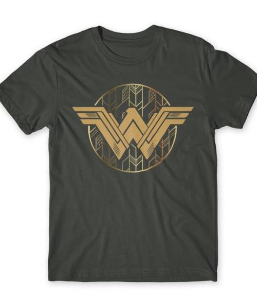 Wonder Woman logo Póló - Ha Wonder Woman rajongó ezeket a pólókat tuti imádni fogod!