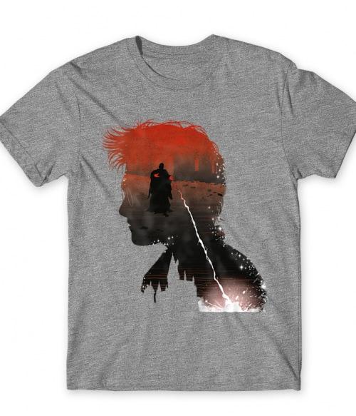 Harry silhouette Póló - Ha Harry Potter rajongó ezeket a pólókat tuti imádni fogod!