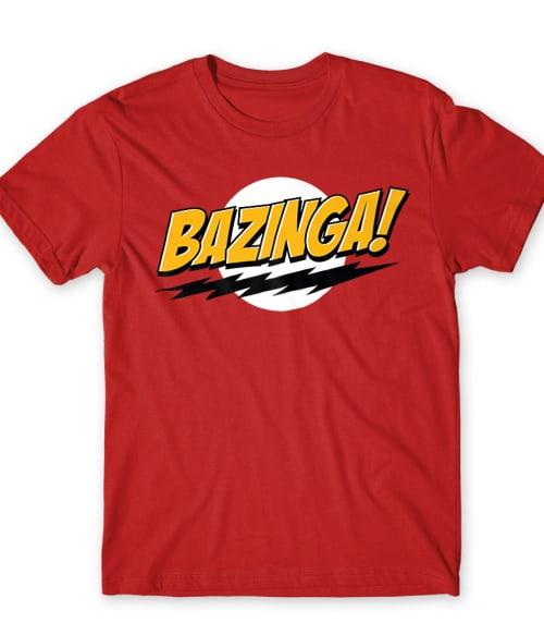 Bazinga Póló - Ha The Big Bang Theory rajongó ezeket a pólókat tuti imádni fogod!