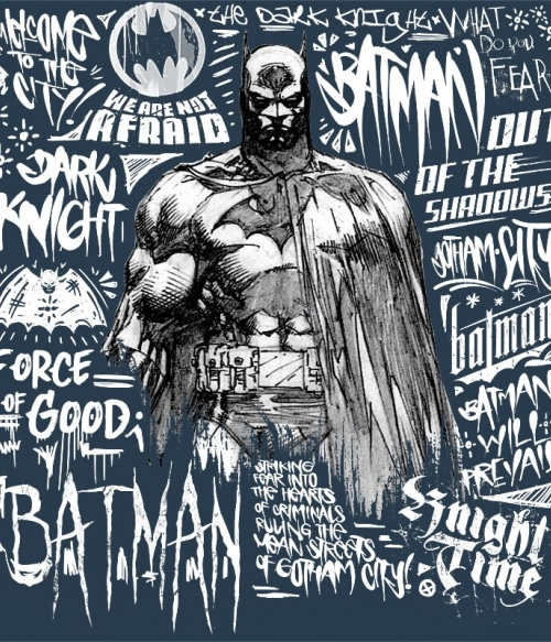 Graphic Batman Póló - Ha Batman rajongó ezeket a pólókat tuti imádni fogod!