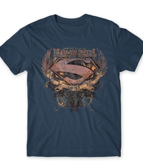 Superman grunge logo Póló - Ha Superman rajongó ezeket a pólókat tuti imádni fogod!