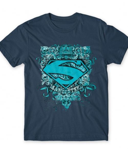 Man of steel grunge Póló - Ha Superman rajongó ezeket a pólókat tuti imádni fogod!