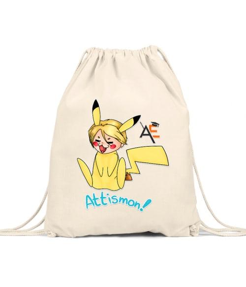 Attismon felirattal Póló - AnimEgyetem