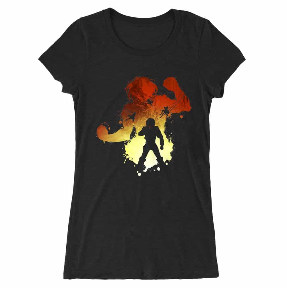 Eren Silhouette Női Hosszított Póló