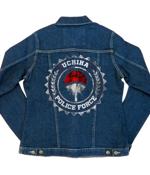 Uchiha Police Force Póló - Naruto - Grenn
