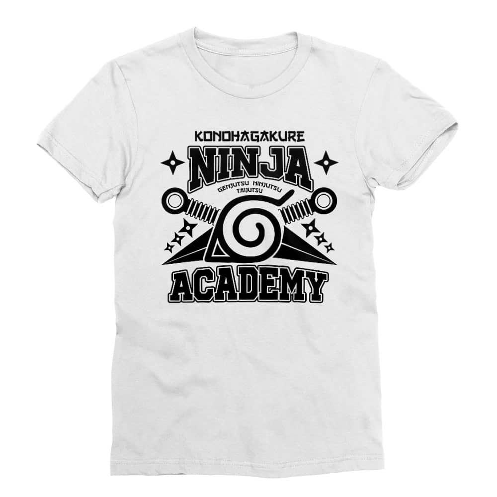 Konohagakure Ninja Academy Férfi Testhezálló Póló