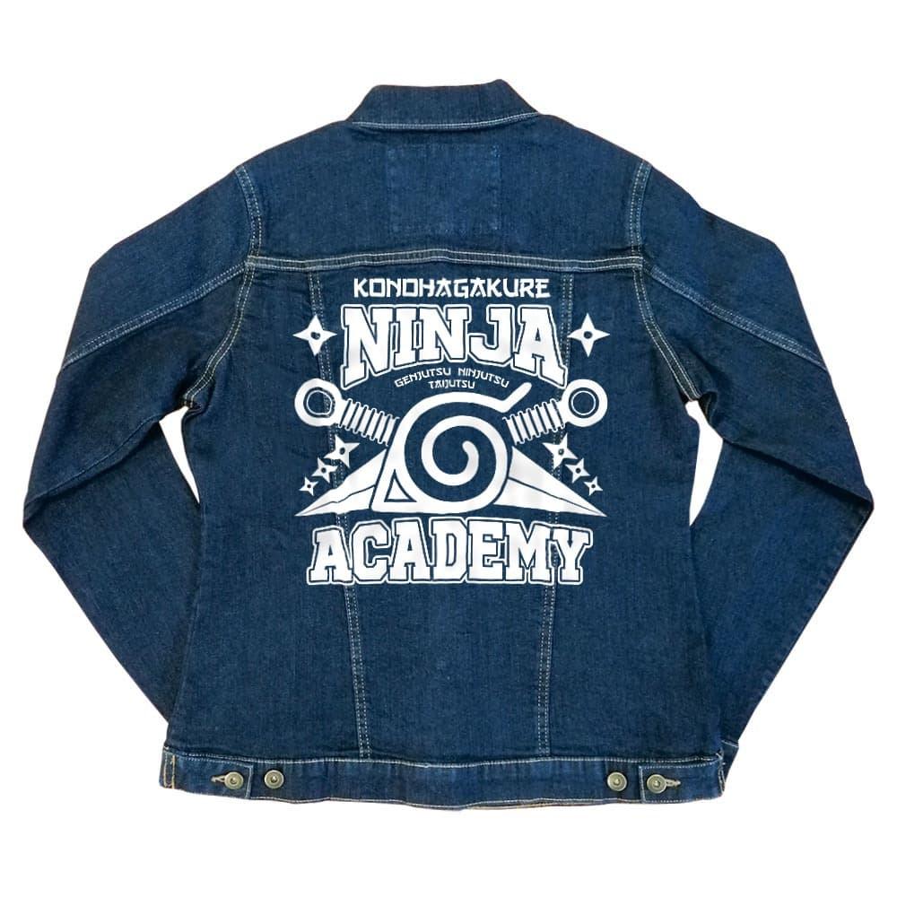 Konohagakure Ninja Academy Női Farmerkabát