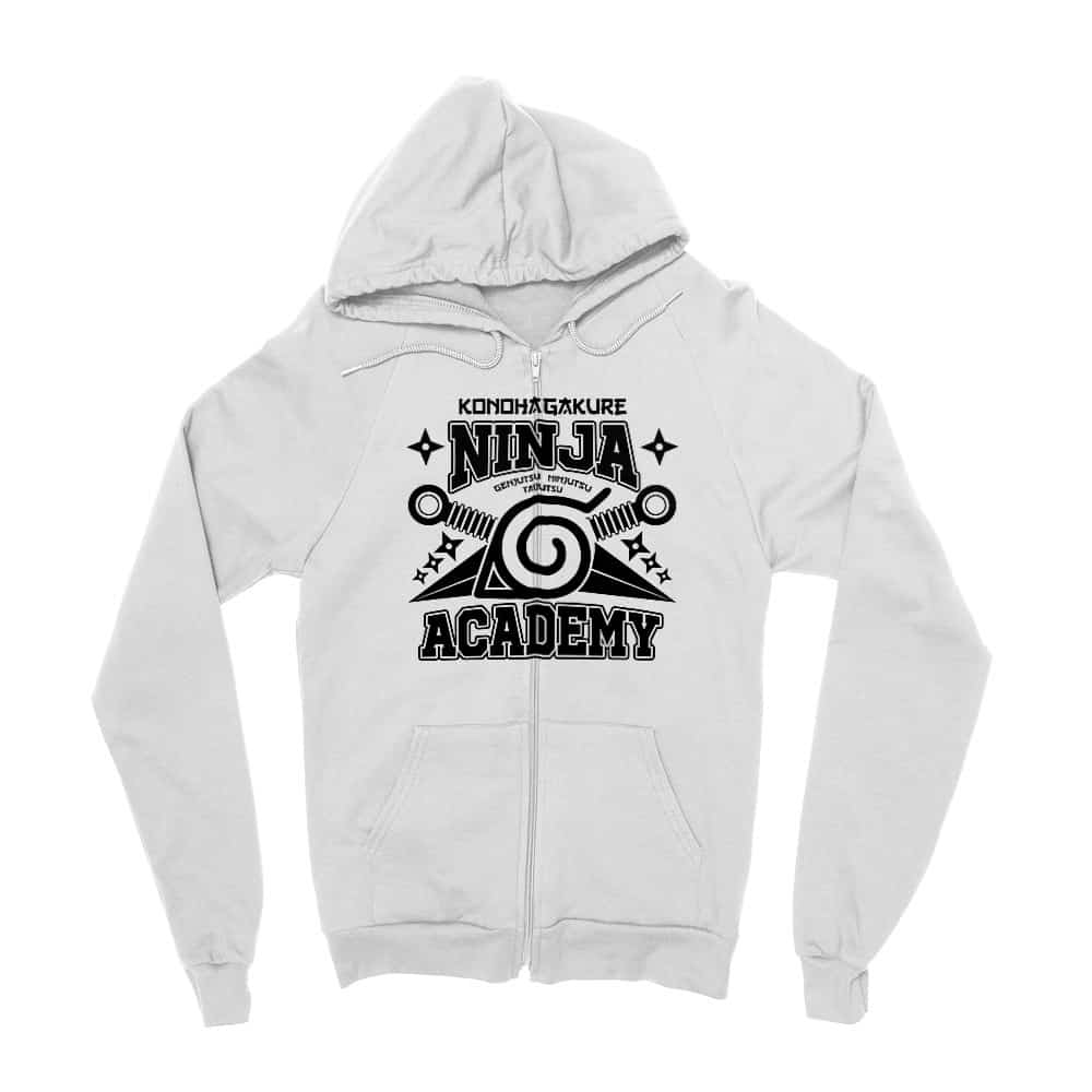 Konohagakure Ninja Academy Zipzáros Pulóver