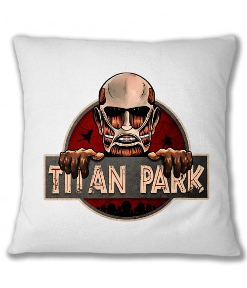 Titan Park Póló - Attack on Titan - Grenn