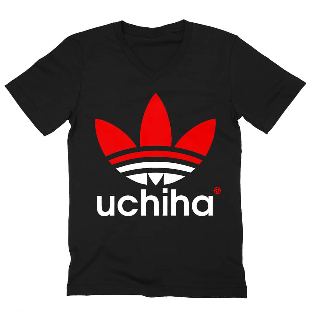 Adidas Uchiha Férfi V-nyakú Póló