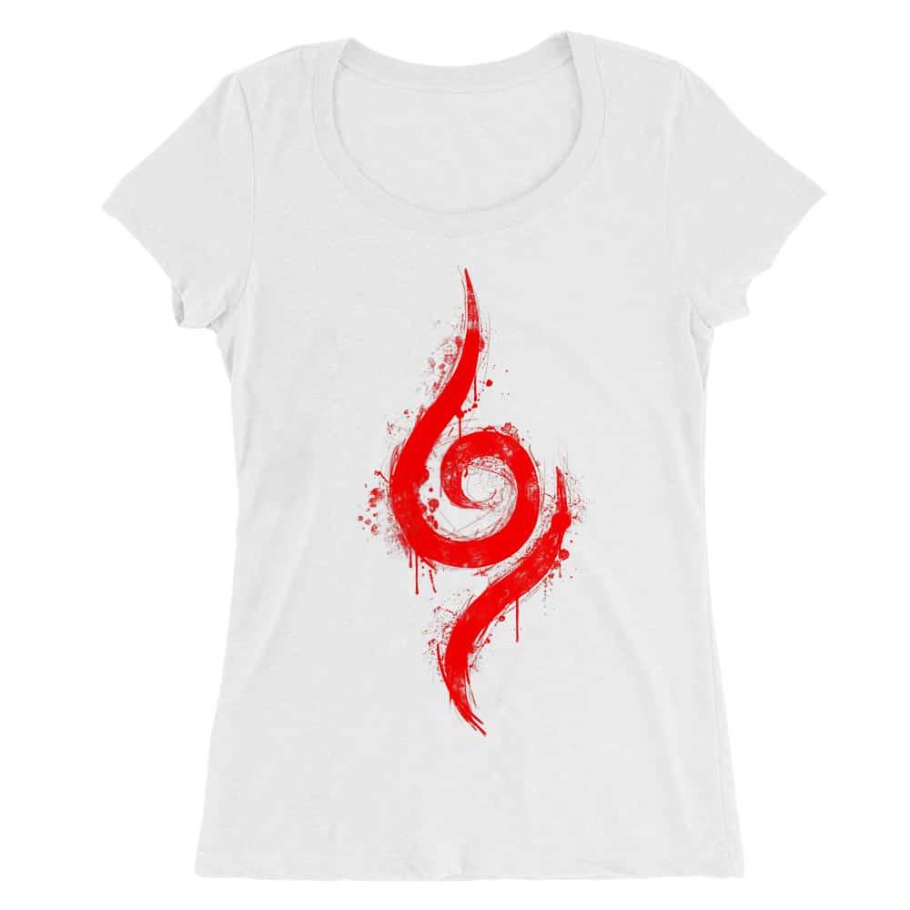 Anbu Symbol Női O-nyakú Póló