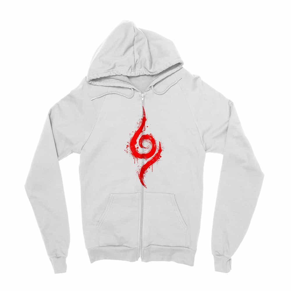 Anbu Symbol Zipzáros Pulóver