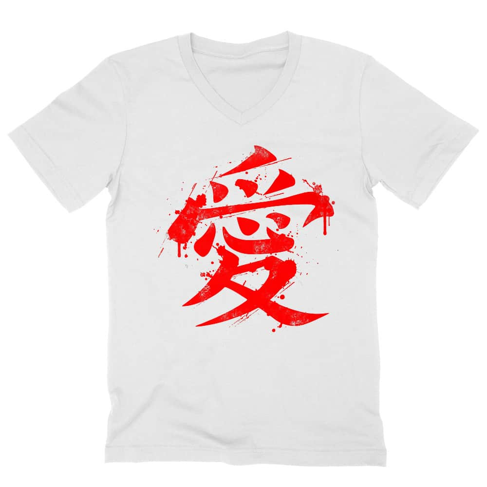 Gaara Symbol Férfi V-nyakú Póló