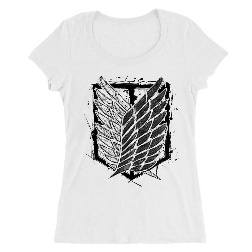 Graphic legion logo Női O-nyakú Póló